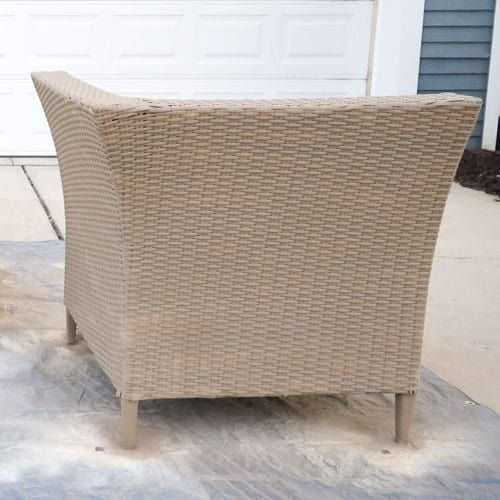 Spray Paint Outdoor Resin Wicker Furniture! in 2020 ...