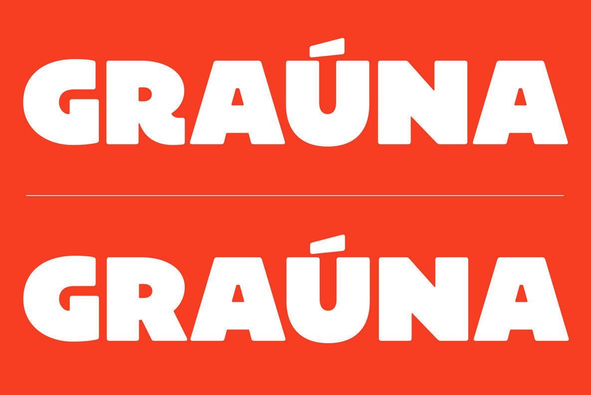 Grauna Lettering Lettering Design Computer Font