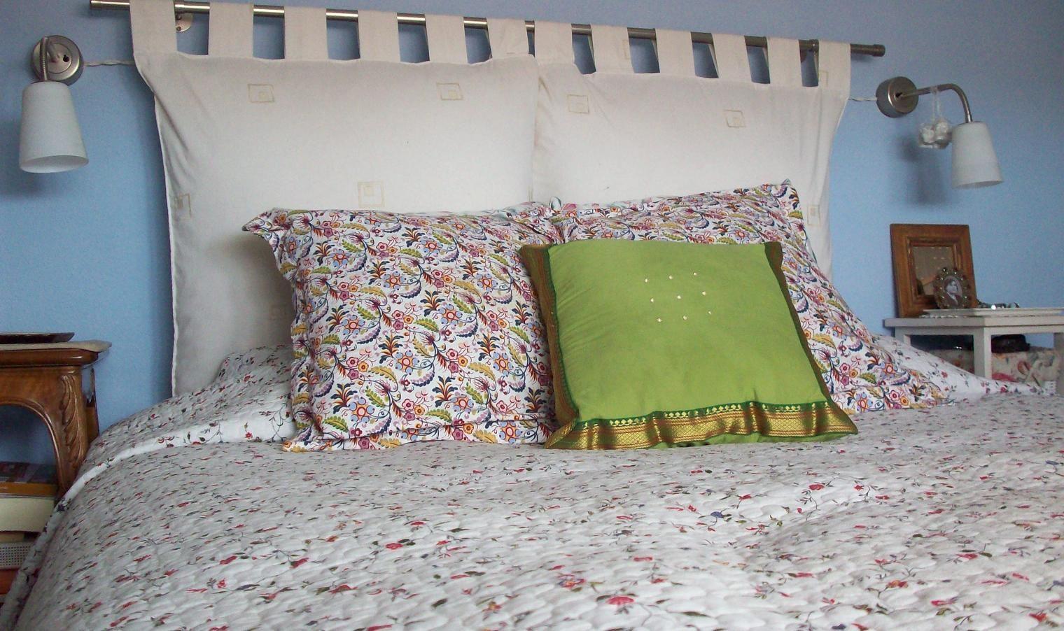 Facil simas cabeceras de cama no gast s de m s - Ideas para cabeceros de cama ...