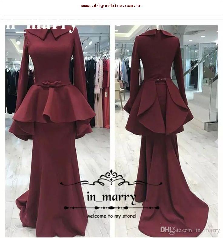neue mode meerjungfrau muslim abendkleider mit langen. Black Bedroom Furniture Sets. Home Design Ideas