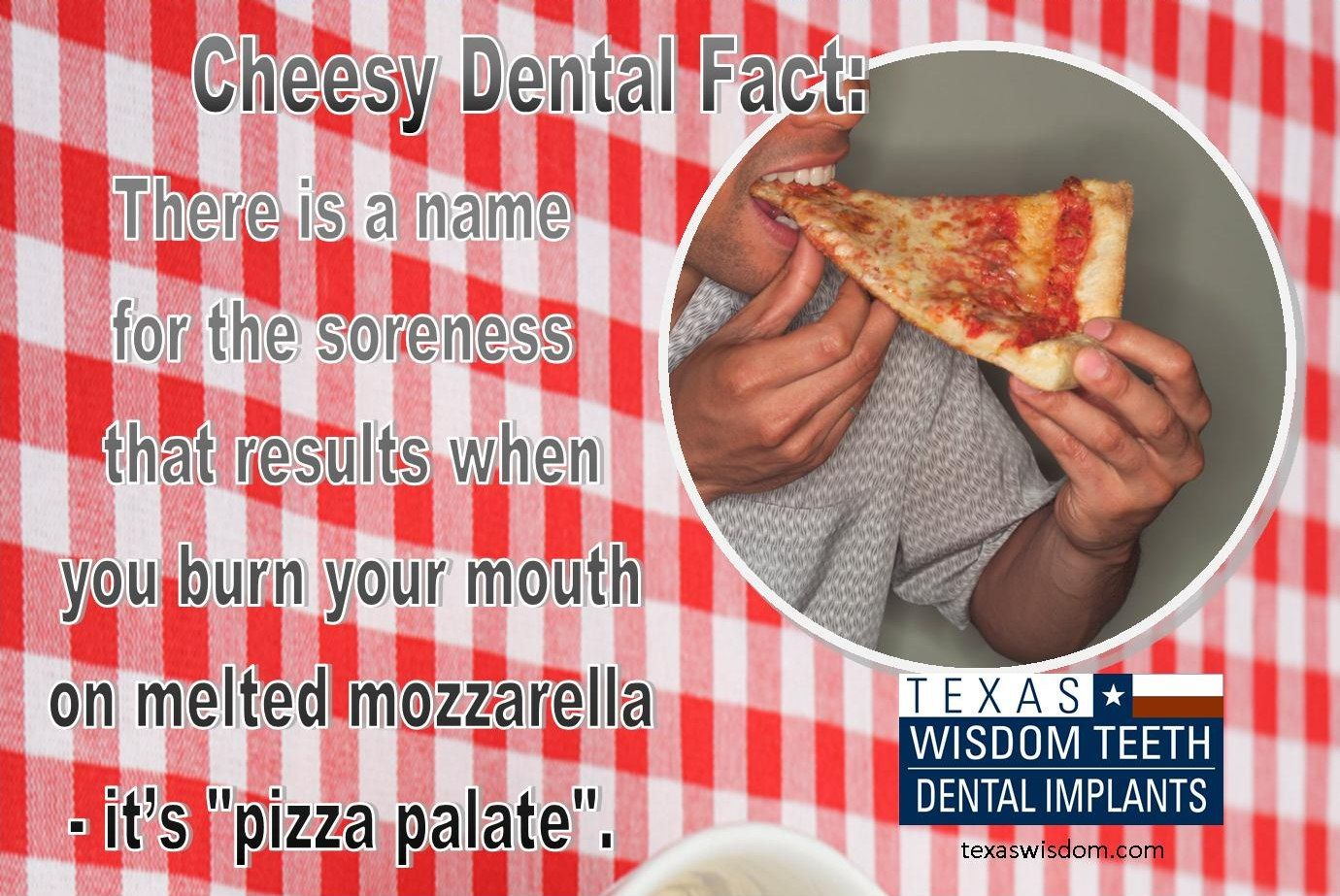 Dental Implant Quotes Pizza Palate  Medical Humor  Pinterest  Pizzas Dental And