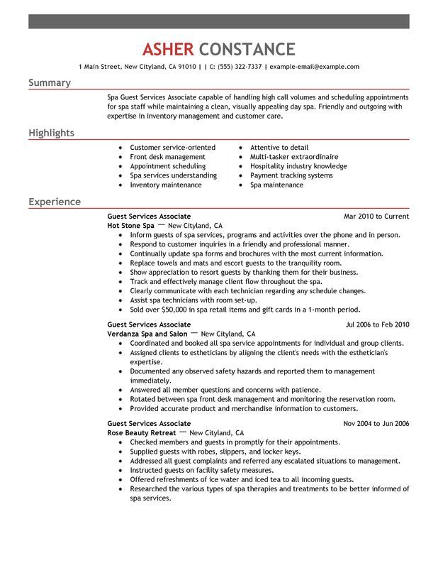 12 Esthetician Resume Examples | Sample Resumes | Resume ...