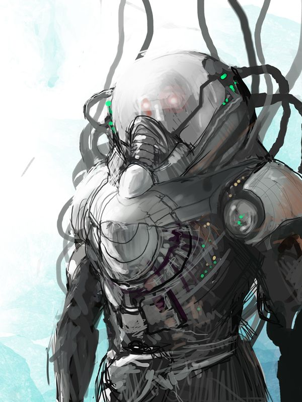 mr freeze by rashomike on deviantart scifi art that