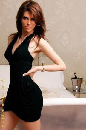 Always Very Good Looking In Black Dress Annita From The
