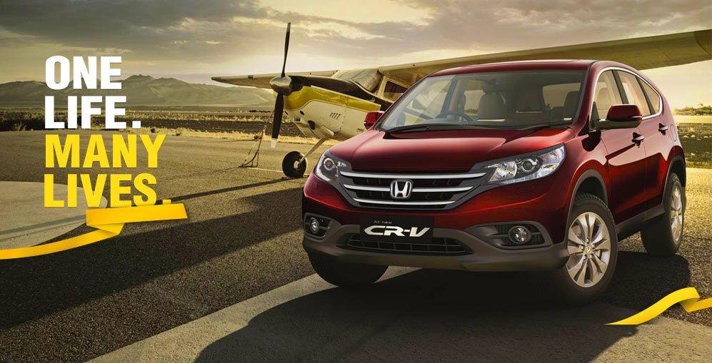 One Life. Many Lives.  Book test drive #Honda #HondaCRV #HondaCar