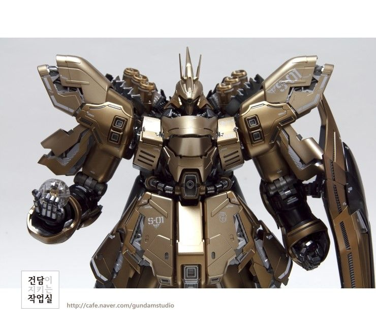 [MG] SAZABI Ver. Ka Gold coloring version by Smong guitar - Master modelers' community Signaturedition.com