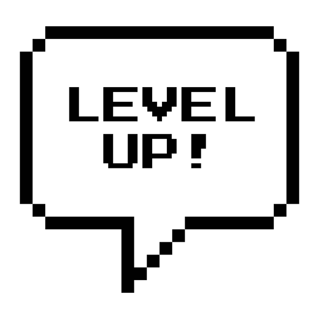 Level Up Art Print By Geeks N Gamers X Small Easy Love Drawings Level Up Journal Stickers
