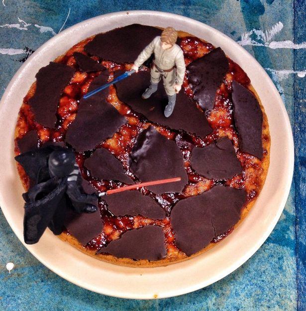 Vegan Star Wars Treats Vegan Caramel Caramel Mud Cake Mud Cake