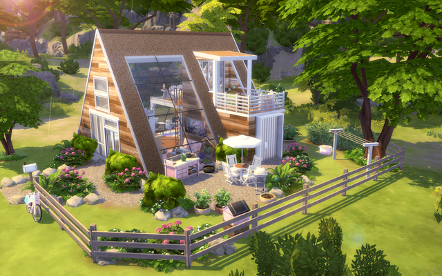 My latest build is this girly and eco friendly a frame loft Really proud of this one