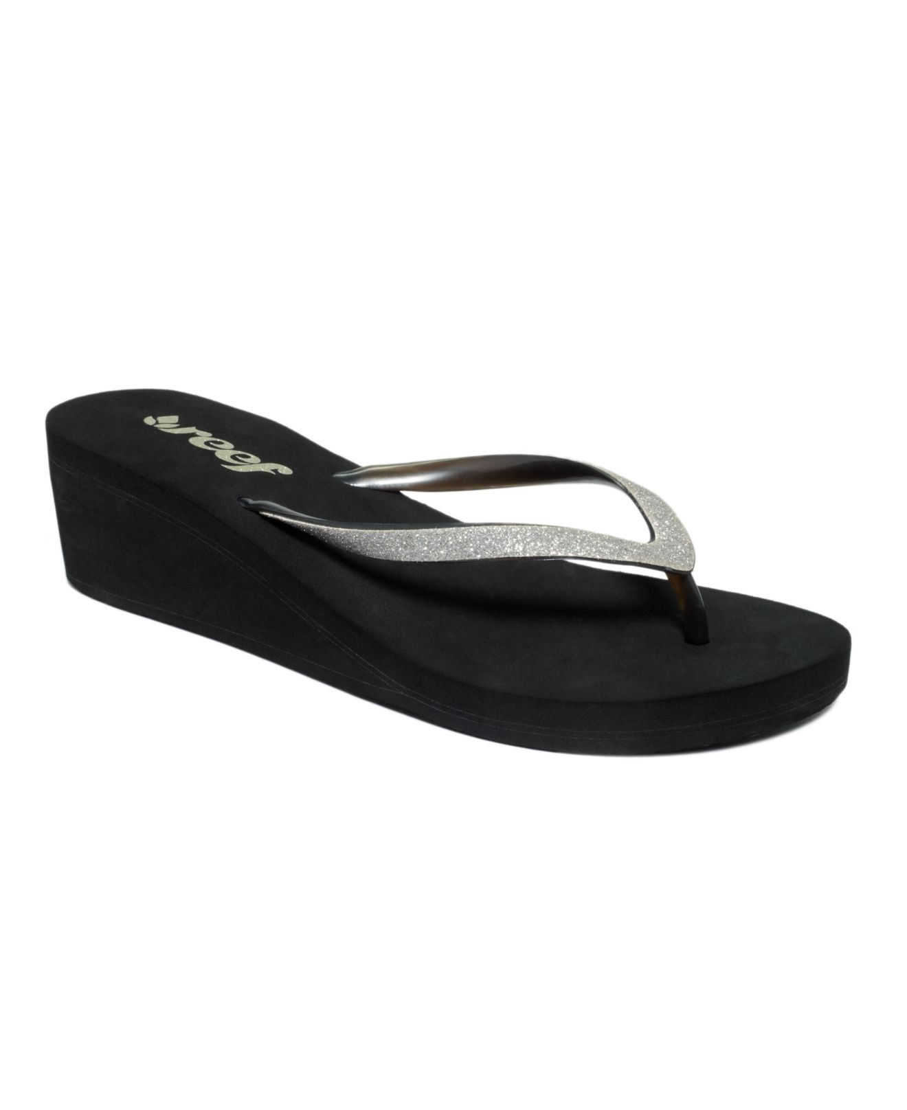 616cea5e40 Reef Shoes, Krystal Star Wedge Thong Sandals - Sandals - Shoes - Macy's