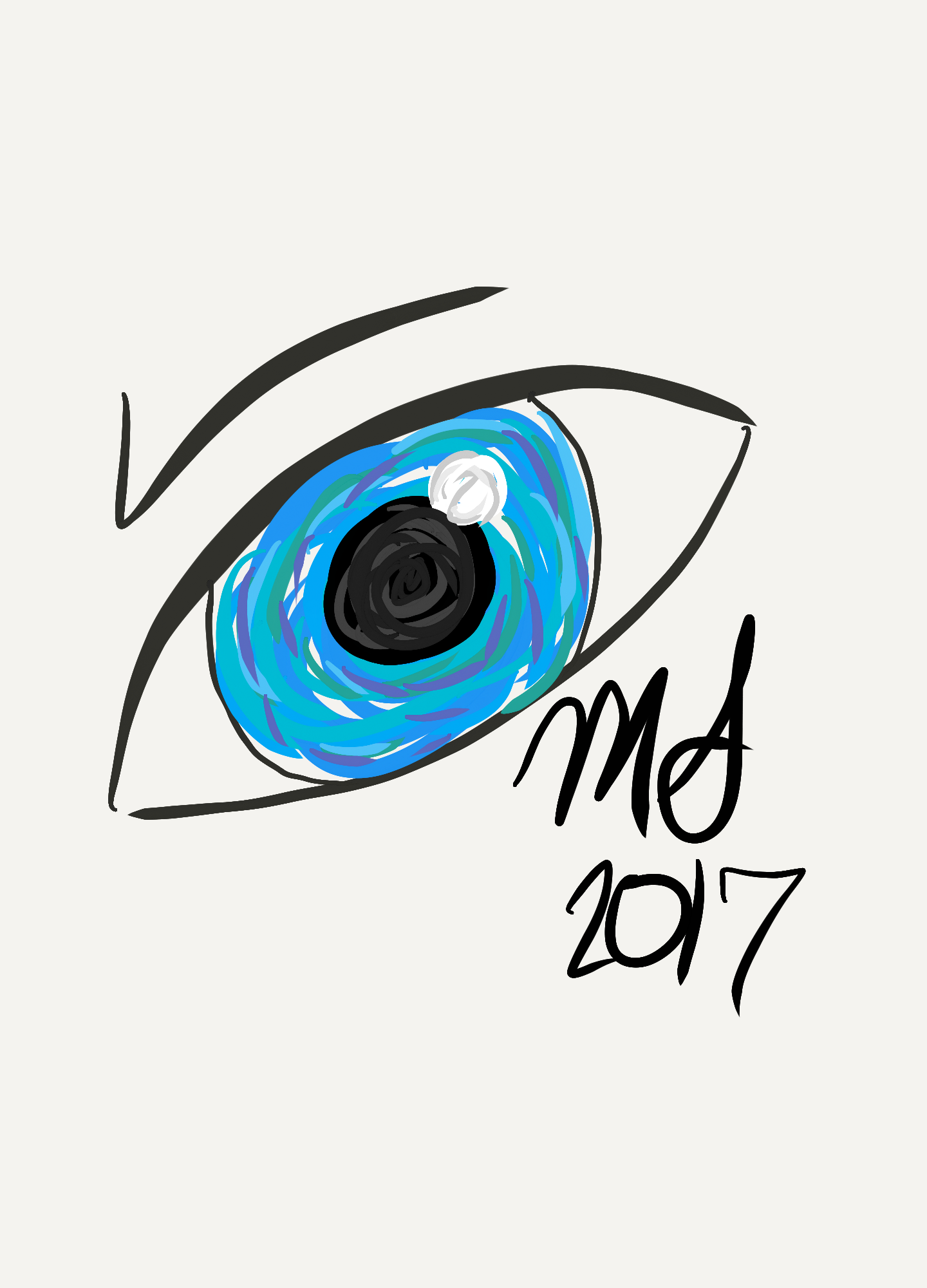 Doodle i did on PaperOne app by @Sassinator16