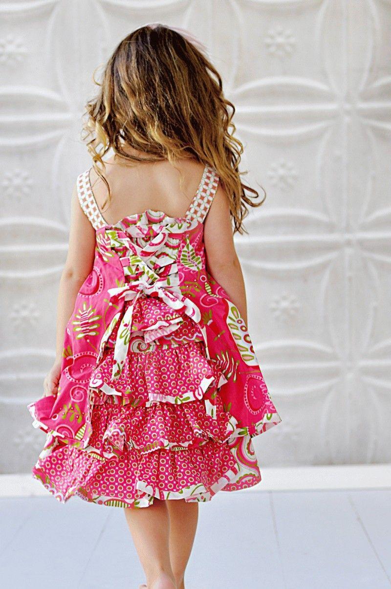 Adorable little girls\' dress   my daughter   Pinterest ...