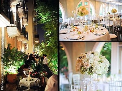 Garden Court Hotel Peninsula Wedding Venues Palo Alto Reception