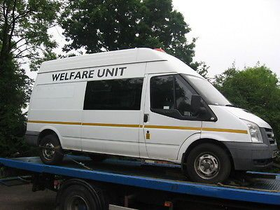 Ford Transit 100 T350l Rwd Fully Fitted Welrare Unit Year 2008
