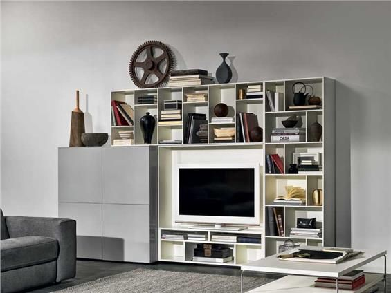 Natuzzi WALL UNITS NOVECENTO - QUICKTIME FOR SOME VERSIONS*