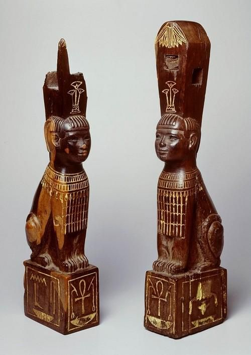 These #Nubian bed legs r clearly Egyptian inspired but nubian made Found in Northern #Sudan Napata Period,800-400 BC