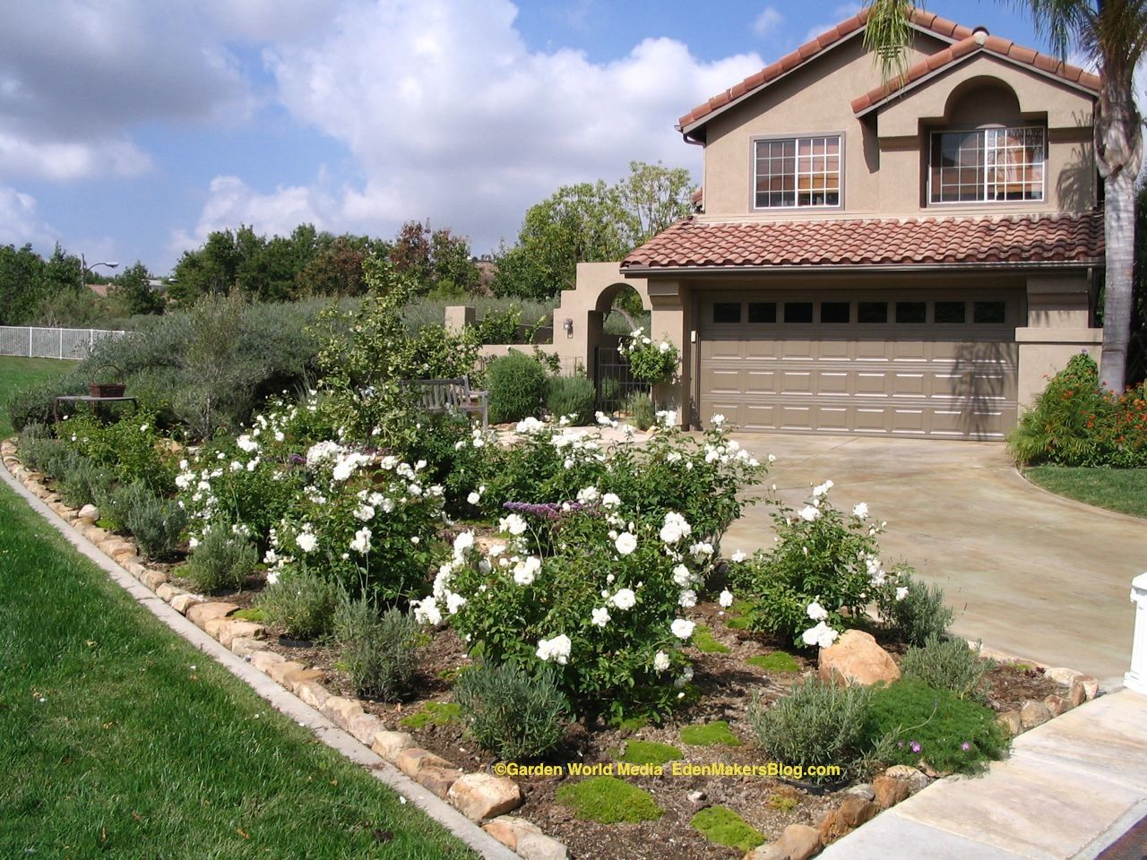 California Front Yard Landscaping