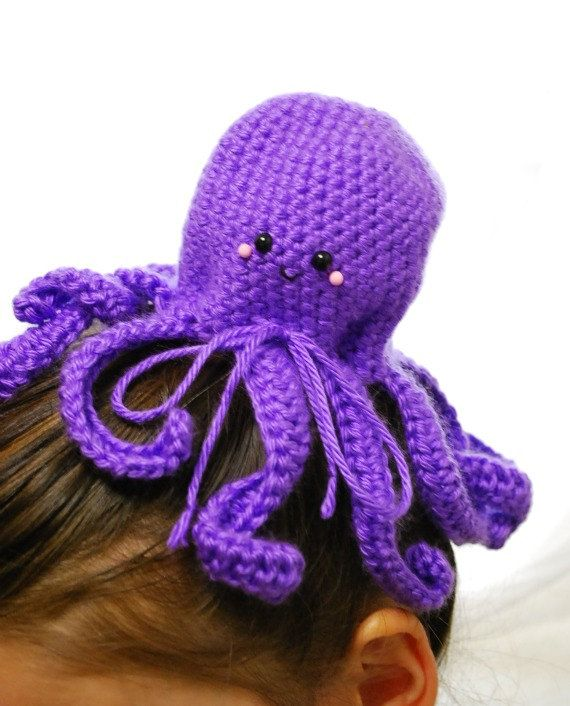 Octopus Bun Cover Required Accessory Octopuses Are The New - Diy bun cover