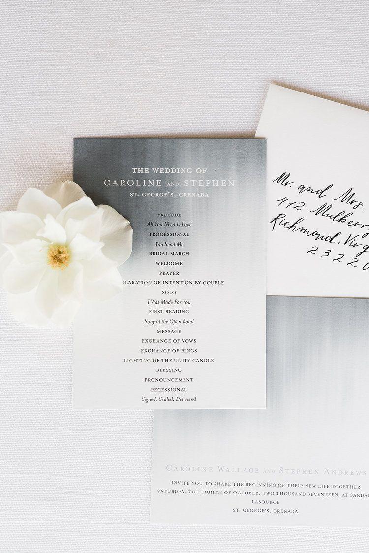 Modern Beach Chic Wedding Ceremony Inspiration | Beach chic weddings ...