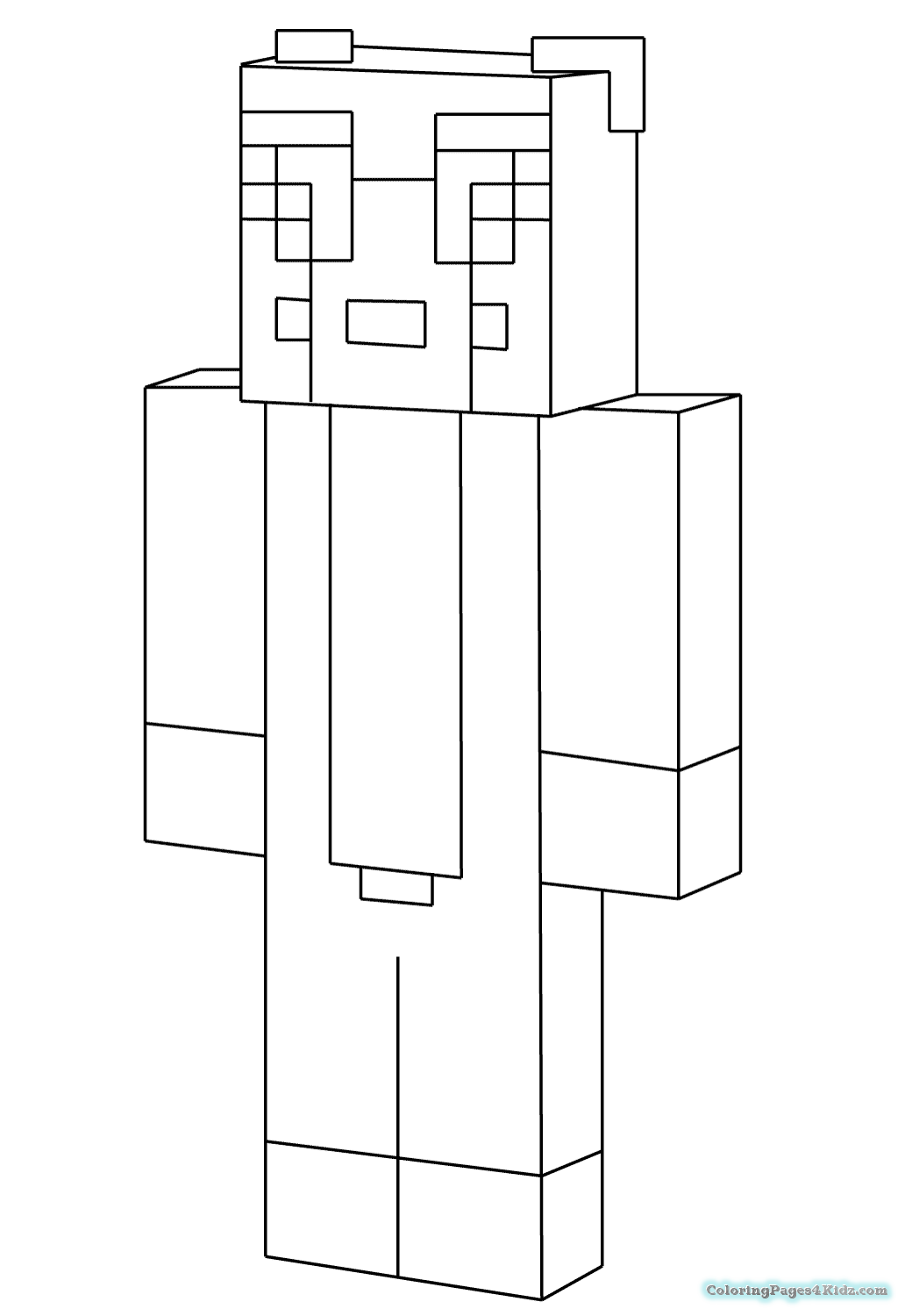 Minecraftcoloringpagesfree15 Coloring Pages For Kids Minecraft Coloring Pages Cat Coloring Page Minecraft Stampy