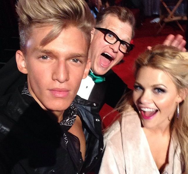 Dancing With The Stars On Tonight Dancing With The Stars Witney Carson Cody Simpson