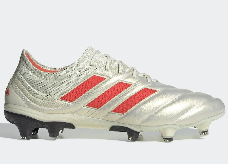 619959eeb7c  adidasfootball  footballboots Adidas Copa 19.1 FG Initiator - Off White    Solar Red   Core Black