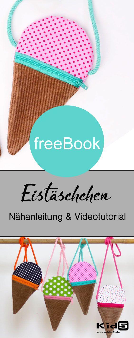 Gratis Schnittmuster Eistäschchen  #freebookschnittmuster