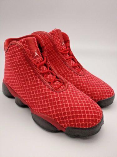 sports shoes e453b e7211 ... usa rouge et noir nike jordan horizon bg red black kids basketball  shoes aj13 air 823583