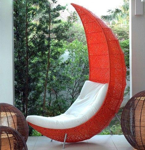Half Moon Chair By Suevans