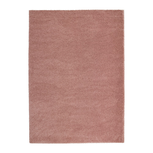 Ikea Ådum Rug High Pile Light Brown Pink Cm The Dense Thick Dampens Sound And Provides A Soft Surface To Walk On