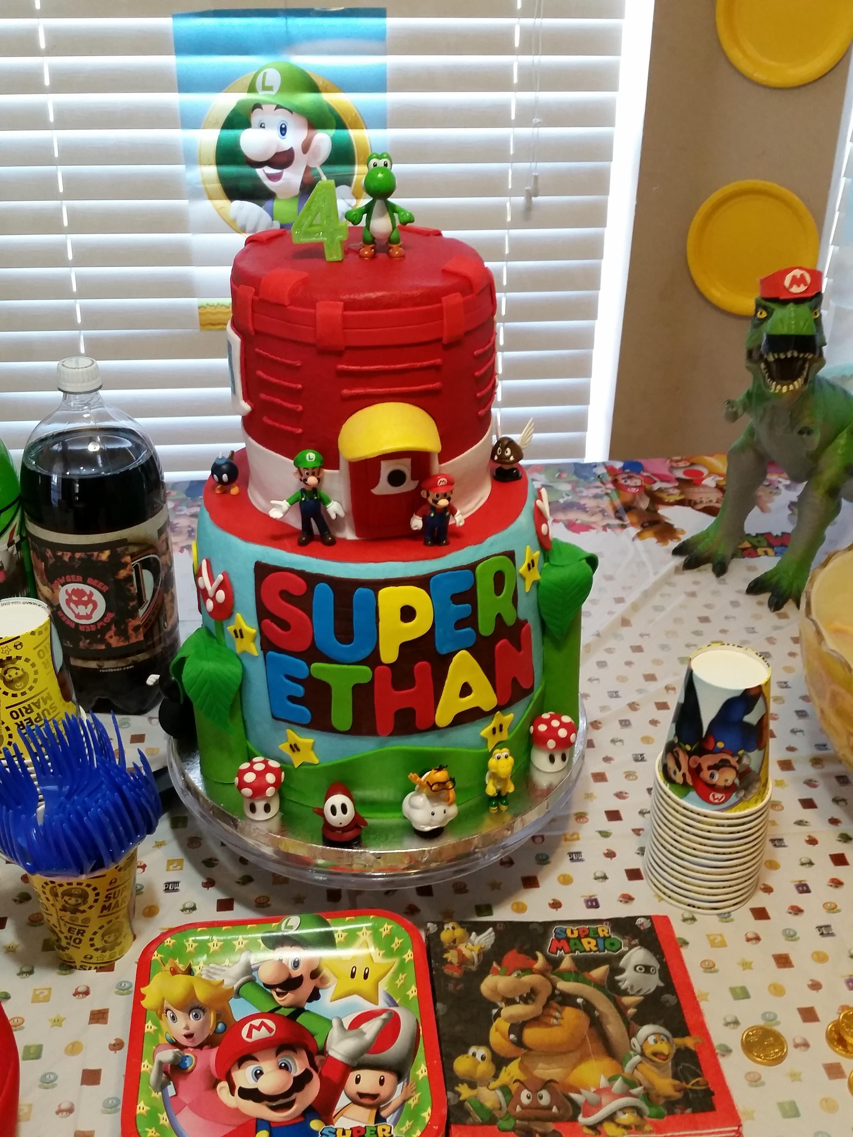 Today Is My Sons Birthday A Friend Made This Cake Because My Son