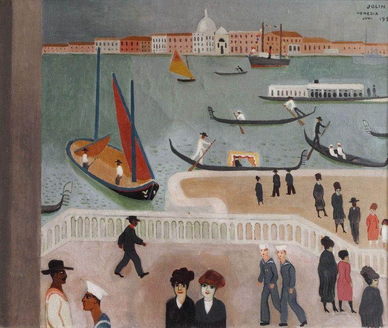 1920 Einar Jolin - Venedig