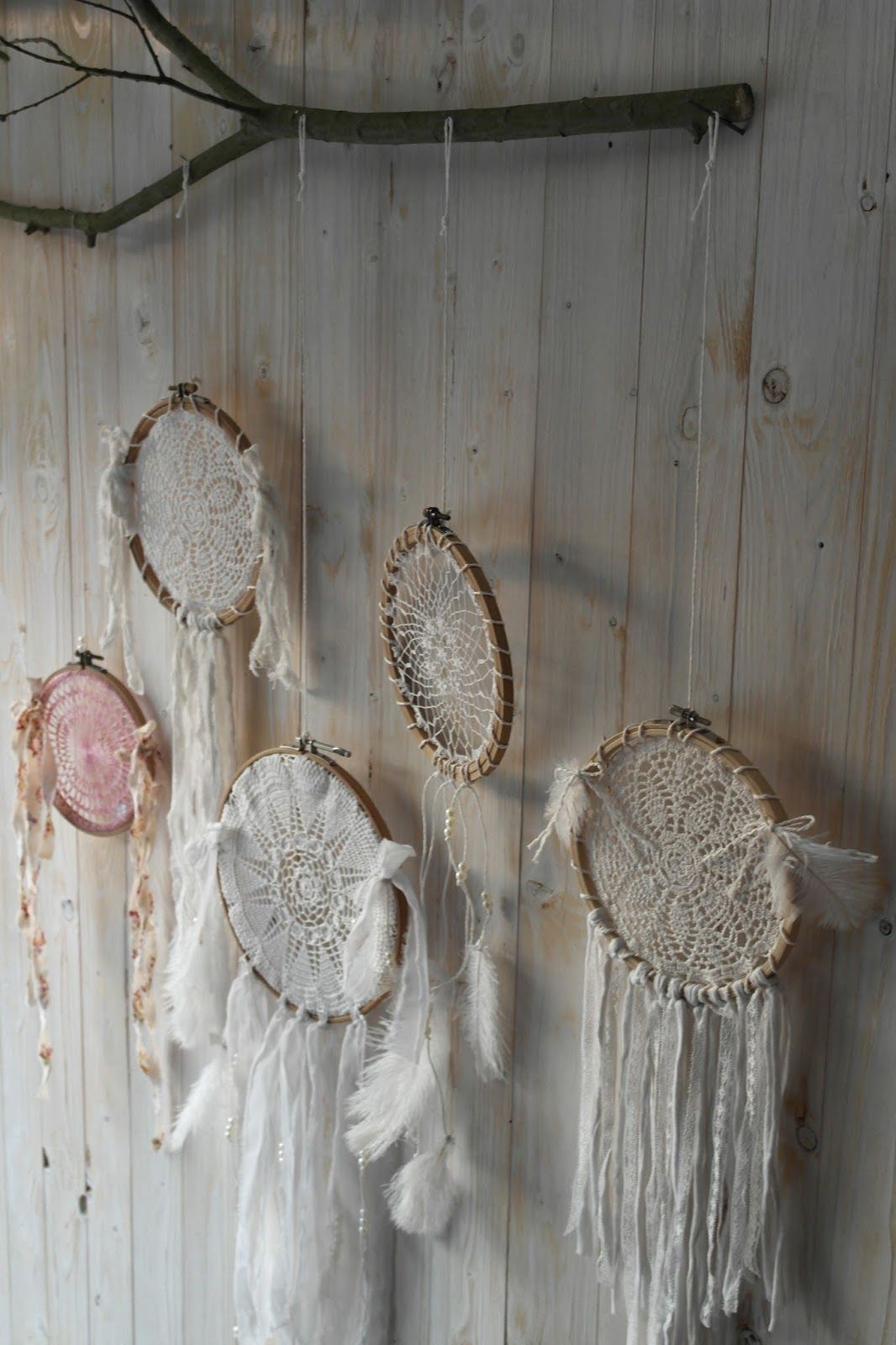 Shabby Deko Selber Machen Diy Tutorial Dream Catcher Shabby Chic And I Mobiles