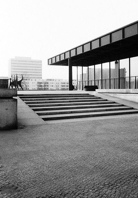 Berlin Modern Architecture Pinterest Ludwig Mies Van Der Rohe