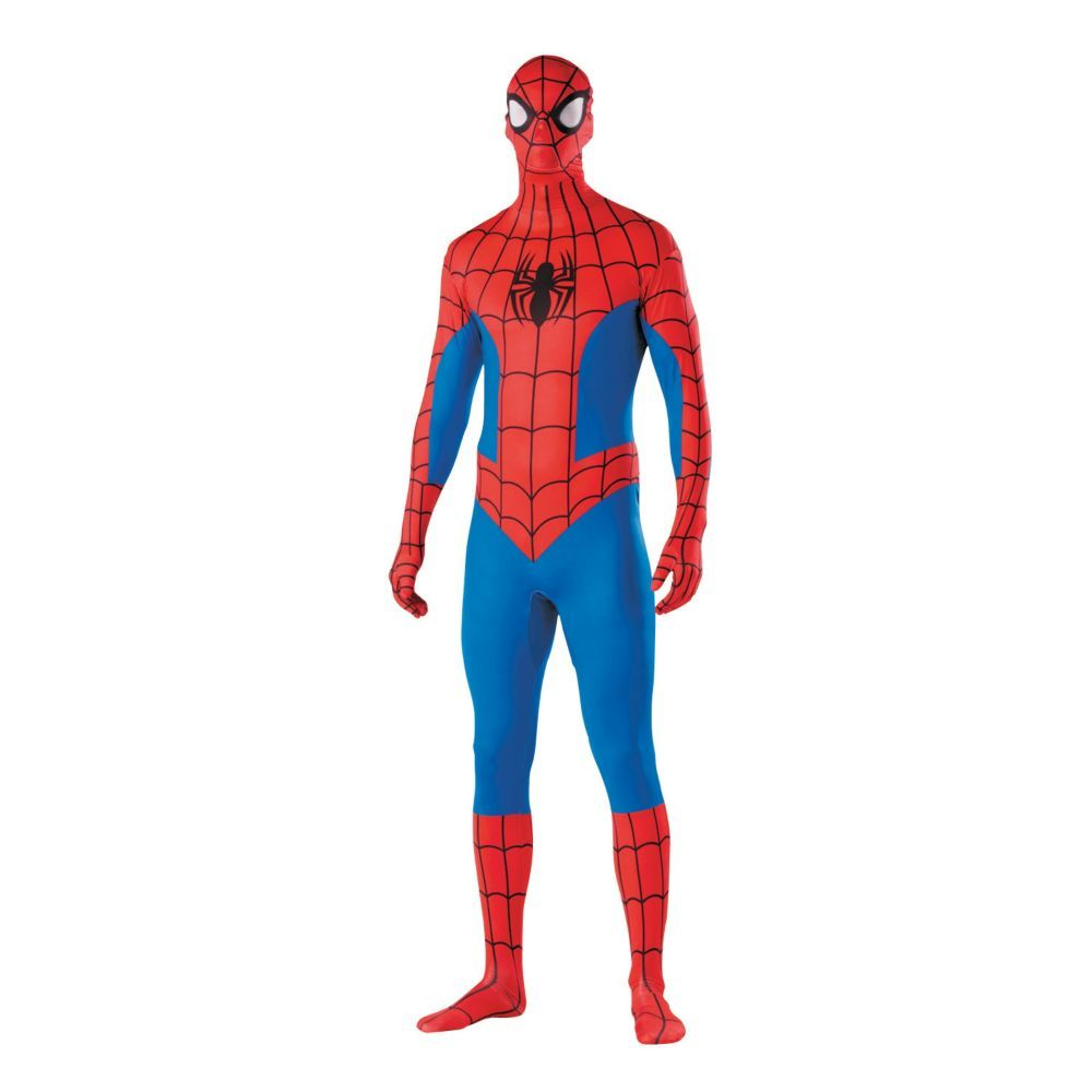 Second Skin Spider-Man Halloween Costume for Men - Medium | Products