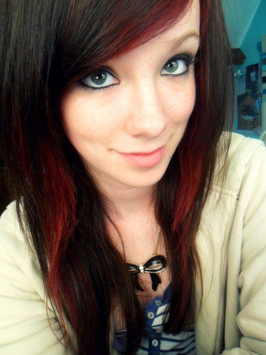How I dyed my hair two-tone brown and red... photo 5 | costumes ...