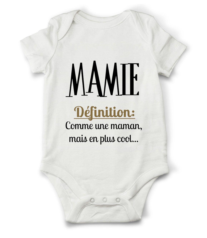 d99c8f81b54b4 Body grenouillère définition de mamie...   Mode Bébé par creatike Cadeau  Bébé Garçon