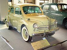 Renault 4cv Wikipedia The Free Encyclopedia Renault Veteran Car Antique Cars