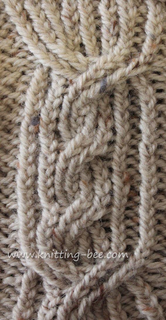 Bonito Cable Reversible Modelo Afgano De Punto Imágenes - Manta de ...