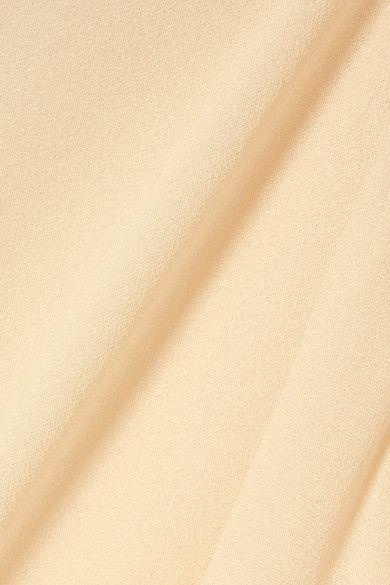 Best Chloé Tie Detailed Crepe De Chine Blouse Cream Step 640 x 480