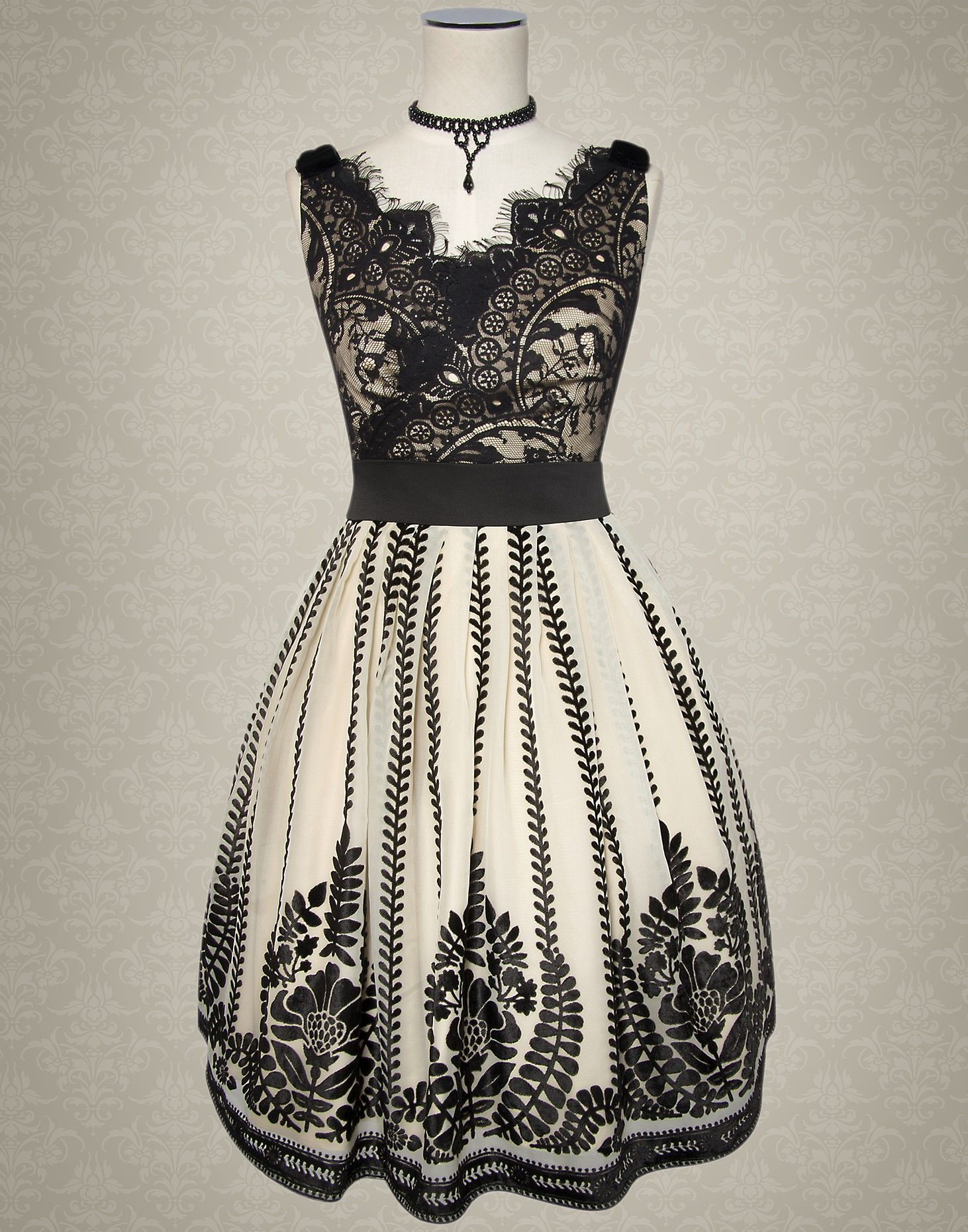 Notre Dame Dress - Kitten D'Amour - new vintage pinup rockabilly ...
