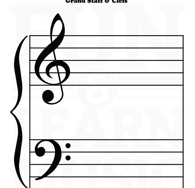 Music-Worksheets-Grand-Staff-Treble-Clef-Bass-Clef-05 Nutki