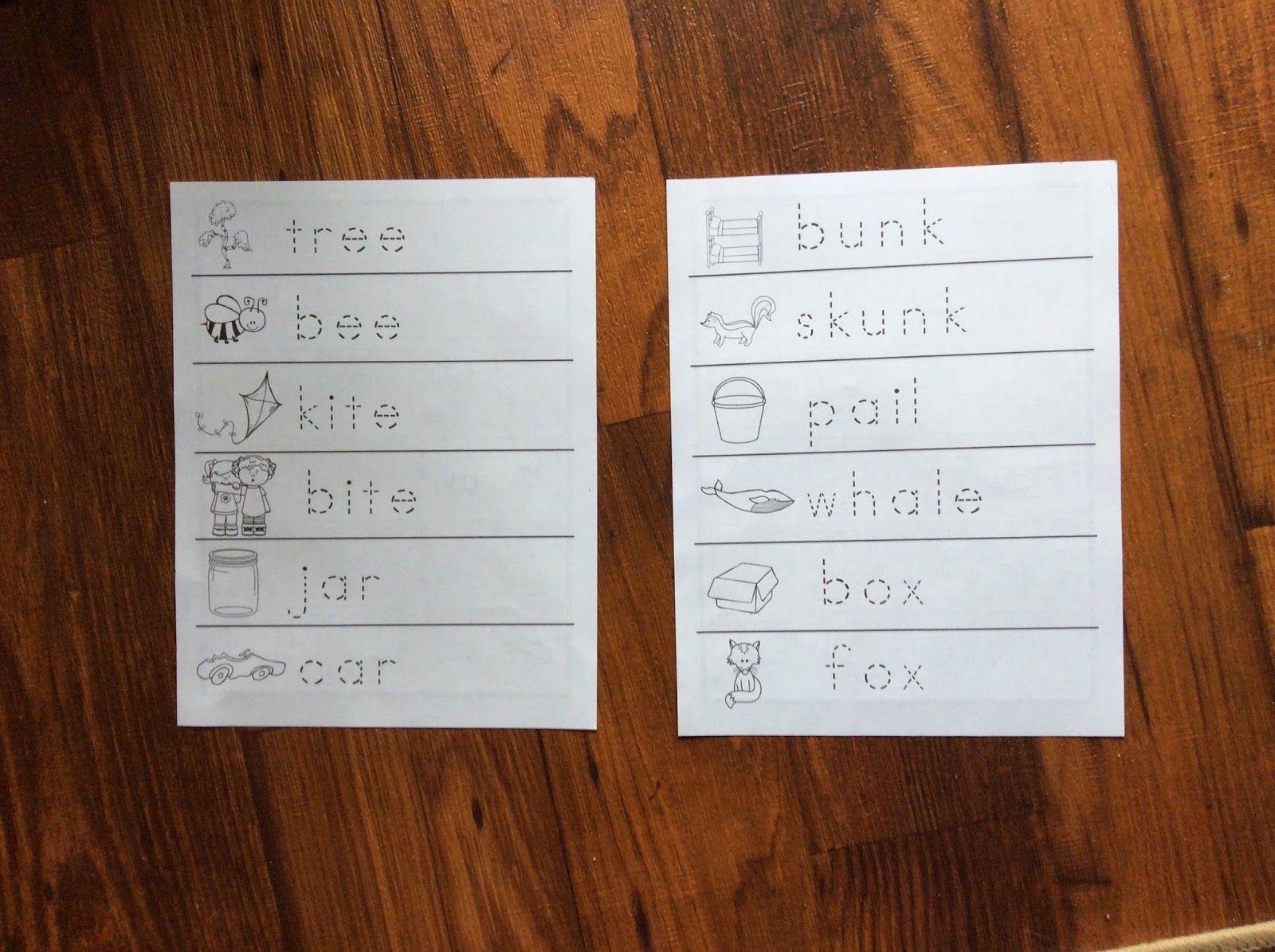 Kindergarten Corps Blog Rhyming Worksheets For