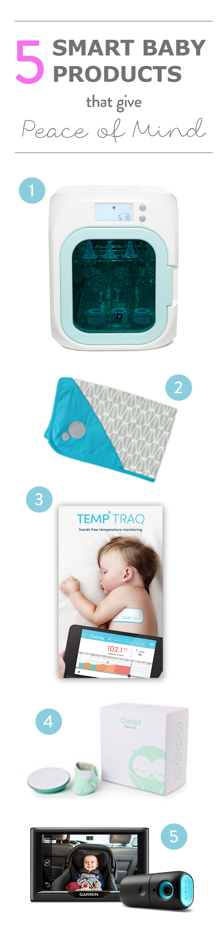 Smart baby products that give parents peace of mind.