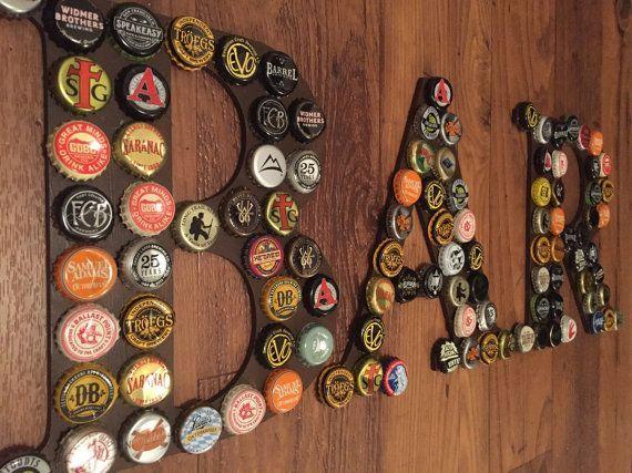 Bottle Cap Bar Sign By GumbosEmporium On Etsy | Etsy Love | Pinterest | Bottle  Caps