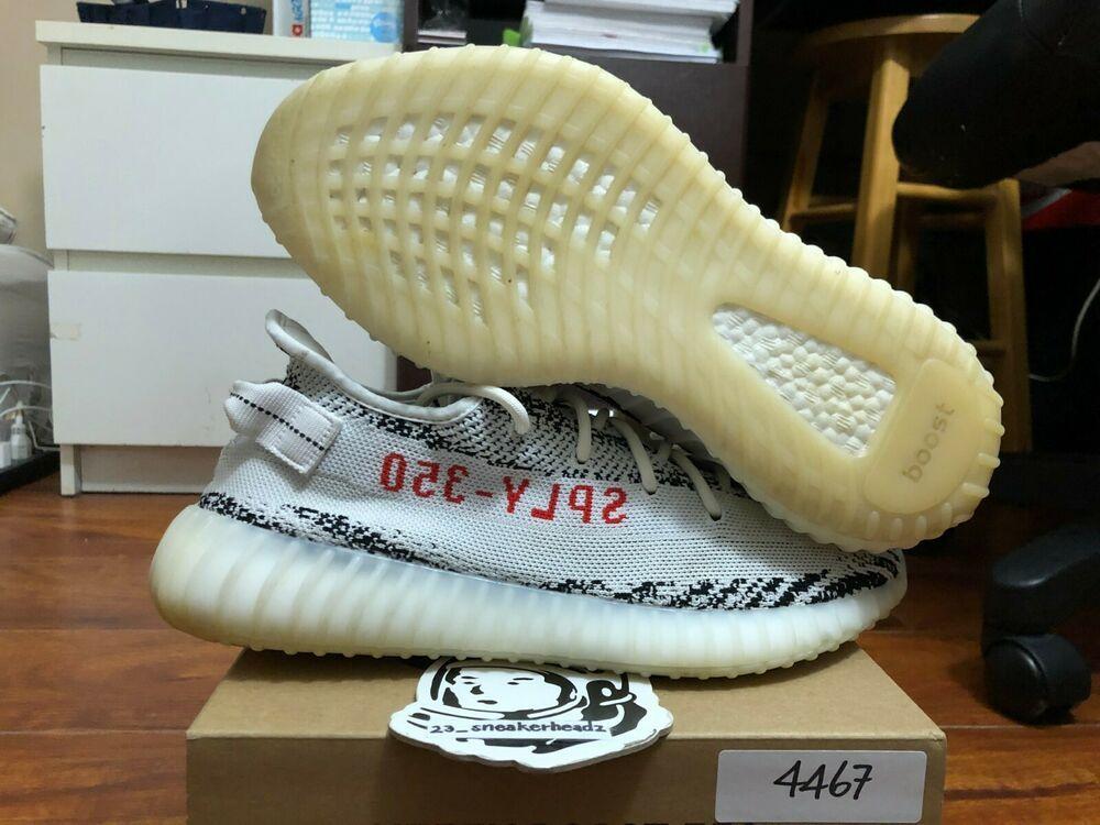 0d0b4c82295fc Adidas yeezy boost 350 V2 Zebra CP9654 size 10.5 100% authentic  shoes   kicks