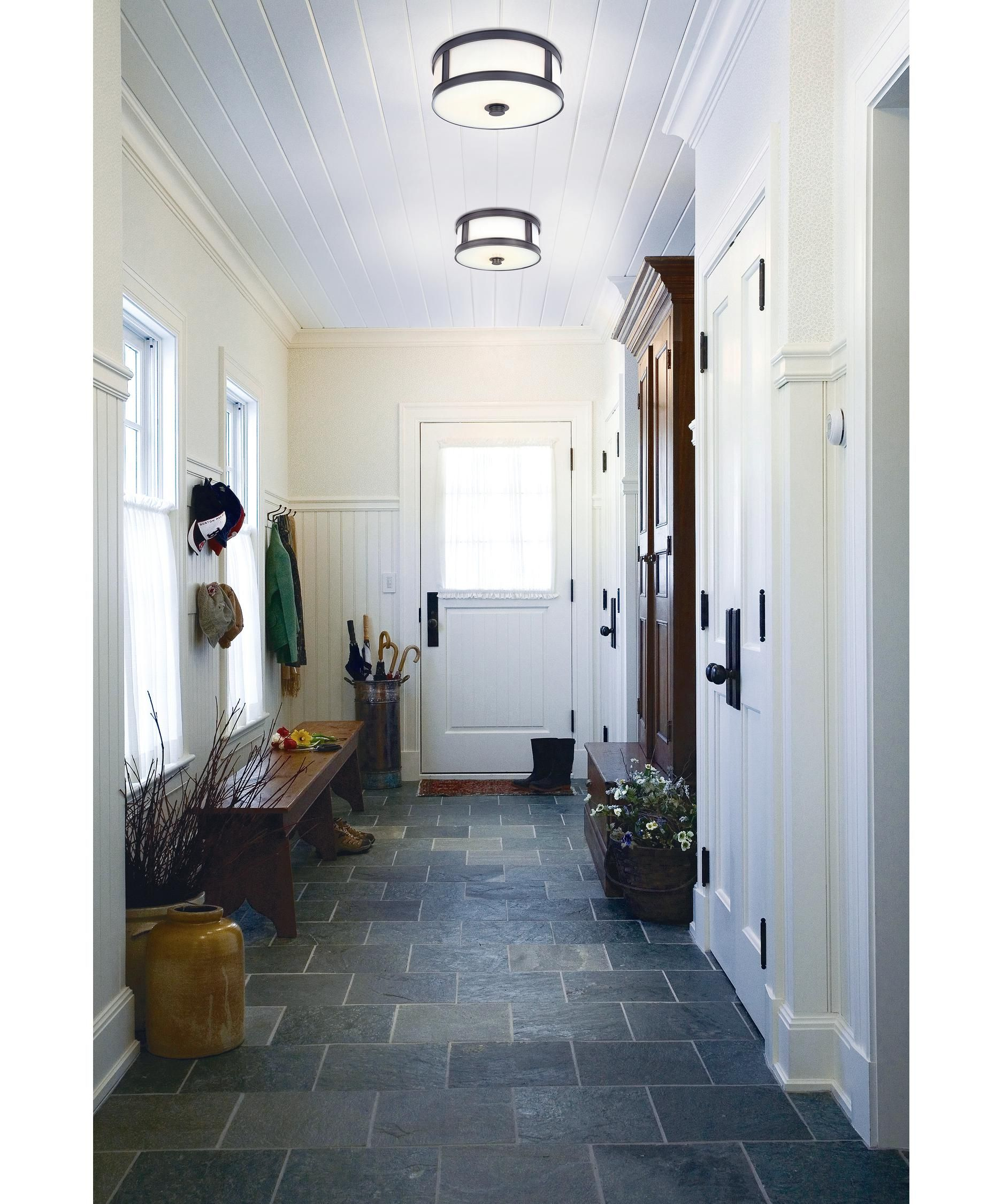 Patterson 16 Inch 3 Light Flush Mount Capitol Lighting In 2020 Farm House Living Room Farmhouse Mudroom Farmhouse Flooring #slate #floor #living #room