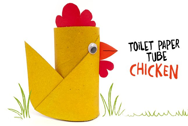 Recycle Toilet Paper Rolls into Cute Chickens | Crafts for Kids | PBS Parents