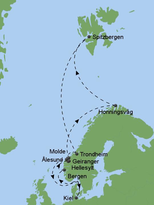 Molde norwegen karte