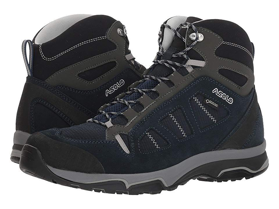 b21e1bf718c Asolo Megaton Mid GV MM Men's Boots Blueberry/Night Blue in 2019 ...